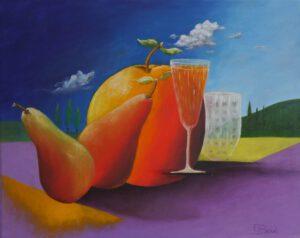 Glas - Apfel - Birnen